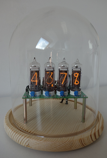 Nixie- thermometer / hygrometer (IN-14 and IN-19A)
