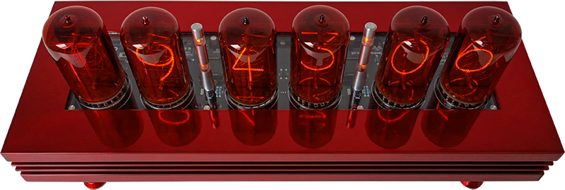 "nixie clock with 2"" digit height (Z568M)"