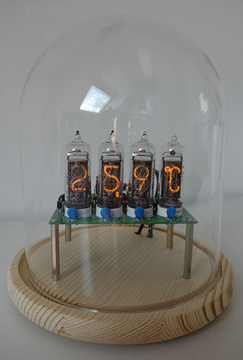 Nixie- Thermometer / Hygrometer (IN-14 und IN-19A)